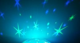 reer-Nachtlicht-gruen-blau bild